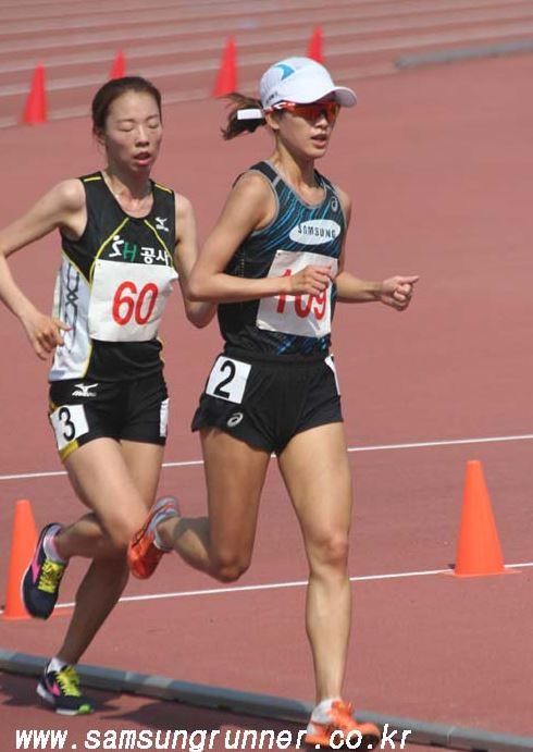 [ 디스턴스챌린지 2차 ] 여자 5000m, 김성은 컨디션 상승세