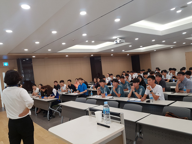 삼성전자 선수단, 스포츠 심리(멘탈 트레이닝) 교육
